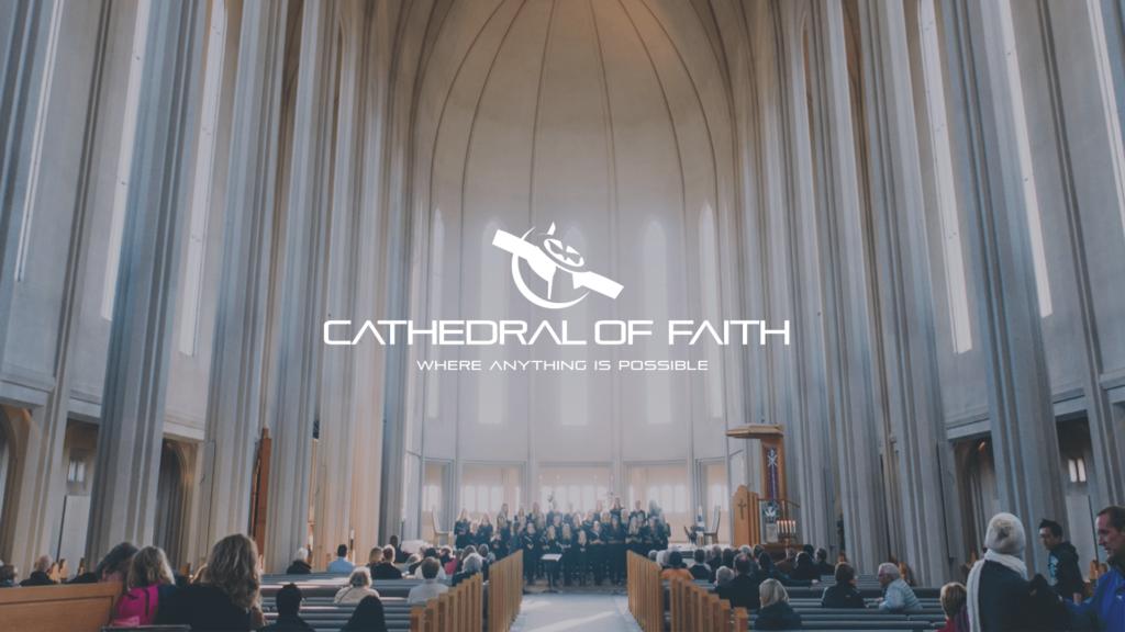 Cathedral Of Faith - Church Logo Design