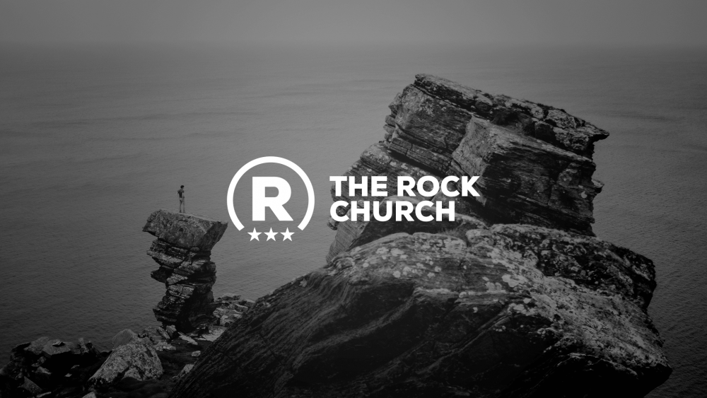 The Rock - Church Logo Design