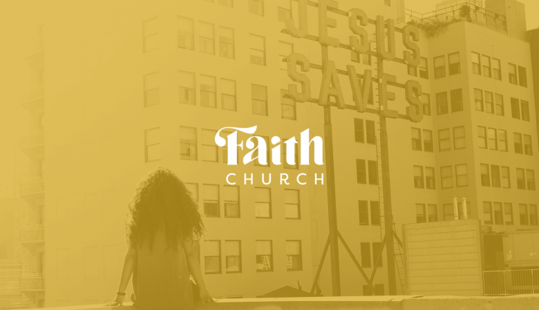 Faith Church Dyer - Church Logo Design
