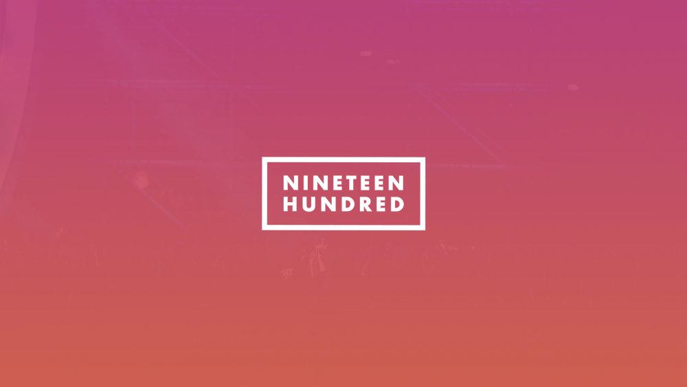 Nineteen Hundred - Church Logo Design