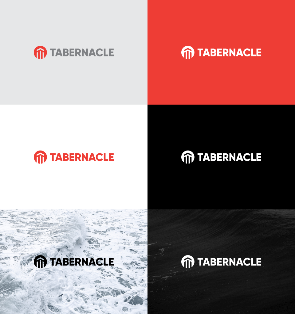 Tabernacle - Church Logo Design - Colors