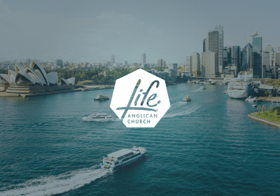Life Anglican Church Sydney Logo Design