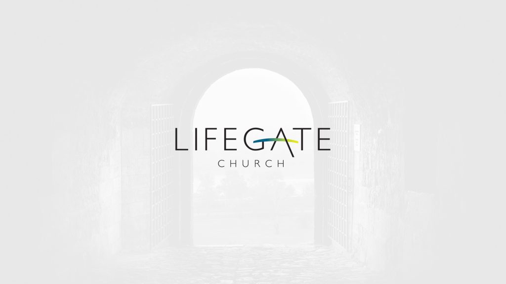 Lifegate Church CLI Blog Church Logo Design