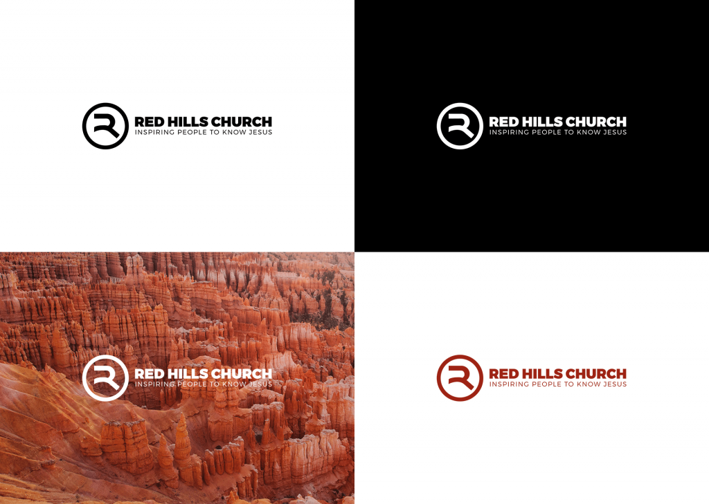 Red Hills Church - Color Variations