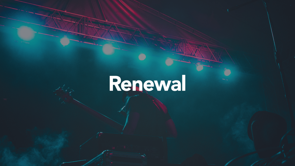 Renewal CLI Blog Church Logo Design