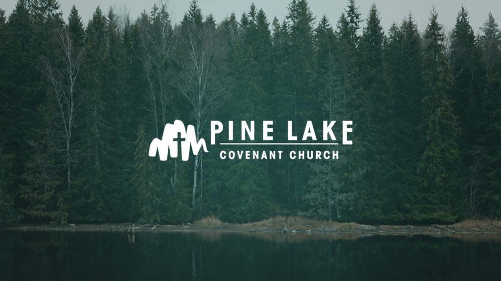 Pine Lake Covenant Church - Church Logo Design