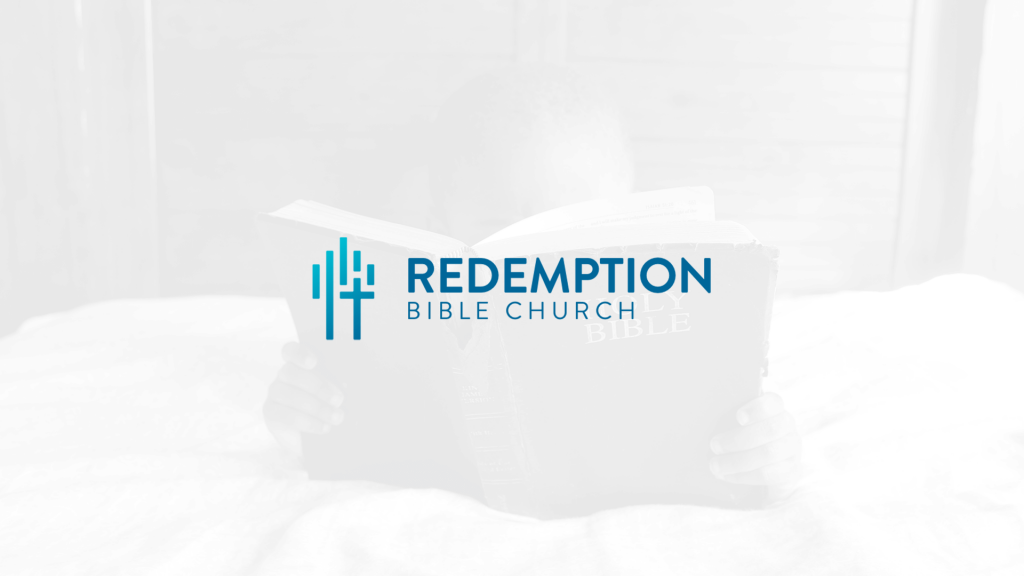 Redemption Bible Church - Church Logo Design